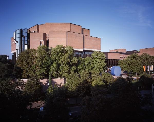 Gasteig Architektur 2