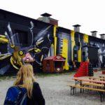 Das Viehhofgelände, place to be für Streetart-Interessierte