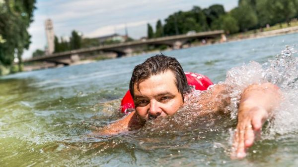 Urban Isar Swimming